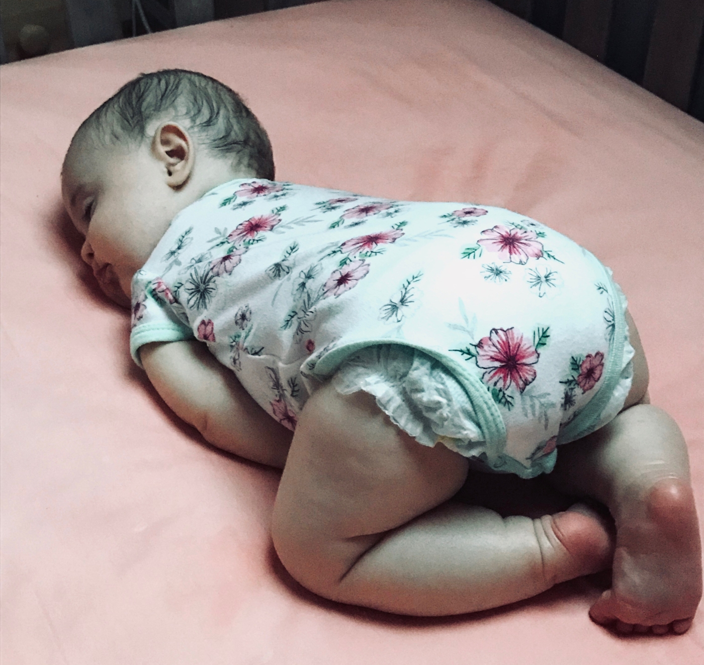 tiny human, baby sleeping