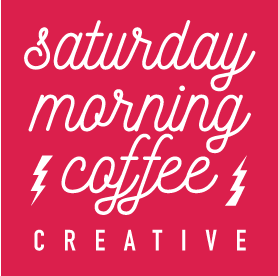 Saturday Morning Creative logo Pink